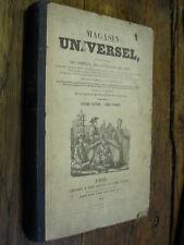 Magasin universel répertoire des sciences lettres arts