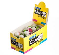 Chap Ice Mini Lip Balm Asst Flavors 50 Count (Cherry,Citrus Orange, Kiwi Lime)