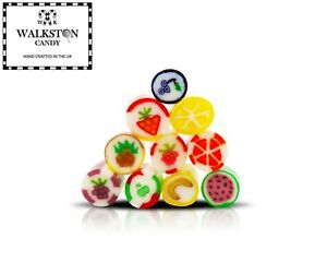 Fruit Bonbons Pick N Mix Sweets Retro Rock Candy Birthday Gift Party Favours