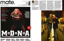 MATE Magazine MADONNA,MDNA,Mitt Romney,Rafael Bruno,Kris Van Assche,John Schell