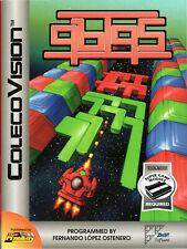 QBIQS for Colecovision / ADAM Cart.  NEW / CIB, SUPER GAME MODULE REQ'D