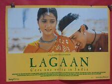 L  041 FOTOBUSTA A titolo: LAGAAN...c'era una volta in India
