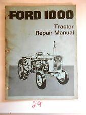 Ford Tractor 1000 Manual Service Book Repair Se 3414