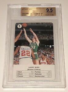 Larry Bird 1988 Fournier NBA Estrellas BGS 9.5 Gem Mint *CELTICS HOF* 2x 10