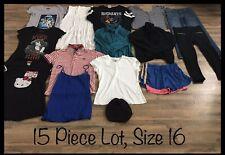 Girls Clothing Lot, 15 Items, Size 16, Star Wars, Hello Kitty, Disney, Pony