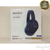 NEW SONY Wireless Stereo Headphone WH-CH700N-LM BLUE Long Play Quick charge EMS