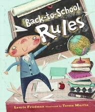 Back-to-School Rules Friedman, Laurie