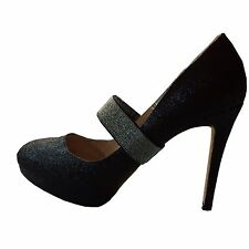 Elasticated Shoe Straps, Heel Grips, Shoe Decor, Wedding Shoe Accessories Silver