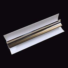 Silver 8mm Internal Corner Trim For Bathroom Cladding & Panels PVC Wet Wall