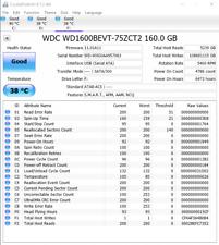 "Western Digital WD1600BEVT Scorpio Blue 160GB SATA 8MB Cache 2.5"" disk"