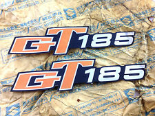 SUZUKI GT185 GT 185 Side Cover Decals Genuine NOS 1 pair