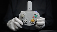 Official Nintendo Gamecube Wavebird Controller / Adapter - 'The Masked Man