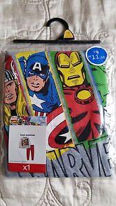 BNWT Tesco F&F Marvel Super Hero's pyjamas age 7-8 years sleepwear pj's
