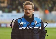 AFC WIMBLEDON: NEAL ARDLEY SIGNED 6x4 ACTION PHOTO+COA