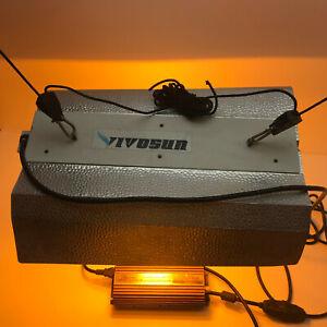 Vivosun Indoor Grow Light Canopy Dimmable 400 watt Electronic Light Ballast Test