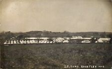 Chartley between Stafford & Uttoxeter Imperial Yeomanry Camp. Sent to Miss Frang
