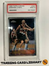 PSA 9 - Jermaine O'Neal - TOPPS CHROME - RC - Rookie - 1996/97