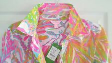 New Lilly Pulitzer JUPITER iSLAND TUNIC Top Coverup S Fit M ? Scuba to Cuba NWT
