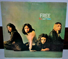FREE - Fire and Water stereo vinyl LP Island Records ‎ILPS 9120 1970 [PL2966]