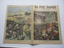 Le petit journal 1893 161 dynamite à la chambre + battue en Algérie
