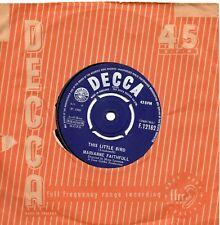 MARIANNE FAITHFUL  THIS LITTLE BIRD  / MORNING SUN   UK DECCA   60s POP