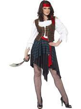 Pirate Lady Costume, pirate Fancy Dress, UK Size 16-18