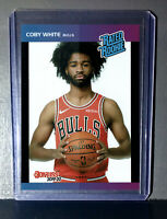 Coby White 2019-2020 Panini NBA Instant Rated Rookie Retro Card