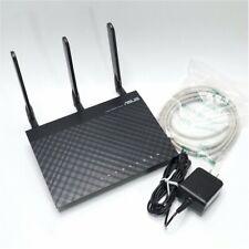 ASUS RT-AC66R Wireless AC1750 Gigabit Router w/Sonicwall High Gain Antennas!
