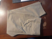 NEW Eddie Bauer Desert Twill Pants Polyester Womens 12 M NWT $60 Closet334