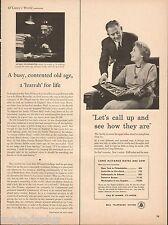 1954 Bell Telephone  Original Vintage Print Ad