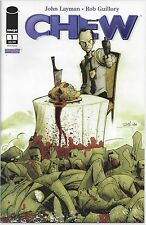 CHEW #1 3rd Third Print Image Comic SOLD OUT Near Mint to NM+