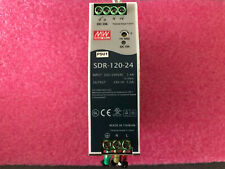 Mean well SDR-120-24 din rail power supply