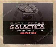 Eaglemoss Battlestar Galactica BaseShip (Tos) with Magazine #5 Base Ship - New