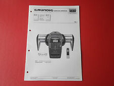 Grundig space pa 1 orig. service INSTRUCTIONS MANUAL