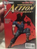 DC Action Comics, Vol. 2 # 1 (2nd Print) Rags Morales Regular Cover