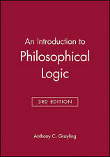 An Introduction to Philosophical Logic, Acceptable, Grayling, Anthony C., Book
