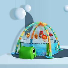3 in 1 Erlebnisdecke Krabbeldecke mit Spielbogen Bälle Baby Gymcenter Spielmatte