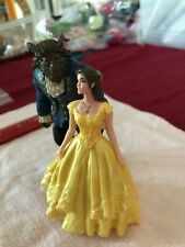 """Lot of two Beauty and the Beast 4""""-5"""" figures, Belle and the Beast"""
