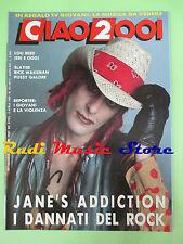 rivista CIAO 2001 14/1989 Jane's Addiction Lou Reed Rick Wakeman Slayer  No cd