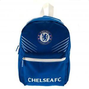Chelsea FC Official Crest Junior Nylon Backpack School Bag Junior School