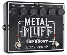 EHX Electro Harmonix Metal Muff with Top Boost, Brand NEW