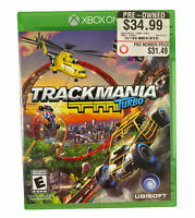 TrackMania Turbo (Microsoft Xbox One, 2016) Tested Working