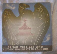 Roman Vestiges and Historic monuments in Roumania Constanta Adamclissi Cozia