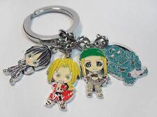 Fullmetal Alchemist cute metal keychain key chain gift new