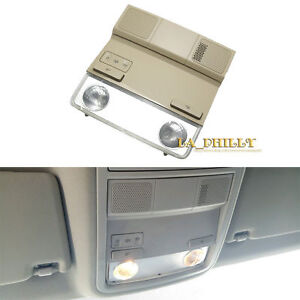 Beige Overhead  Interior Dome Map Light  Lamp for Golf Jetta MK5 MK6