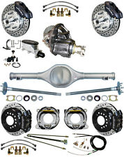 NEW SUSPENSION & WILWOOD BRAKE SET,CURRIE REAR END,POSI-TRAC GEAR,82-97 S10,33