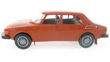Stahlberg - Saab 99 GL 4-Door 1981 red brown + bag 1:20 Finland Plastik Model 5