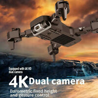 RC Drone WIFI FPV 4K/1080P Camera Foldable Selfie RC Quadcopter with Bag