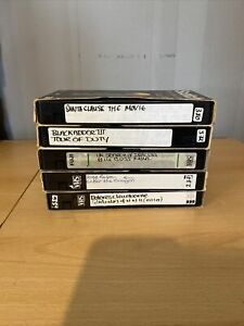 VHS Video Recordable Tapes Used 240 Mins Bundle-Pre-Recorded Untested Very Clean