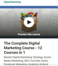 The Complete Digital Marketing Course – 12 Courses In 1 - Udemy